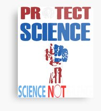Protect Science Metallbild