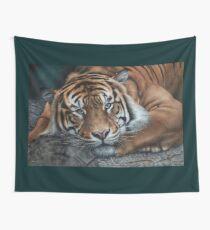 'Sumatran Tiger - Intensity' Wall Tapestry