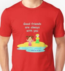 Cathy and the Cat - Friends are with you Unisex T-Shirt
