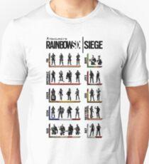 Rainbow Six Operators Unisex T-Shirt
