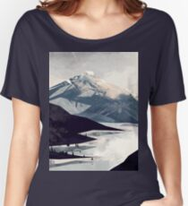 Calming Mountain Women's Relaxed Fit T-Shirt