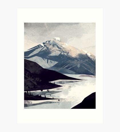Calming Mountain Art Print