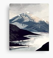 Calming Mountain Canvas Print