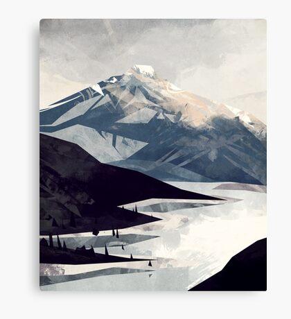 Calming Mountain Canvas Print