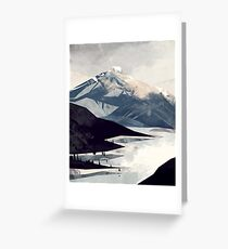 Calming Mountain Greeting Card