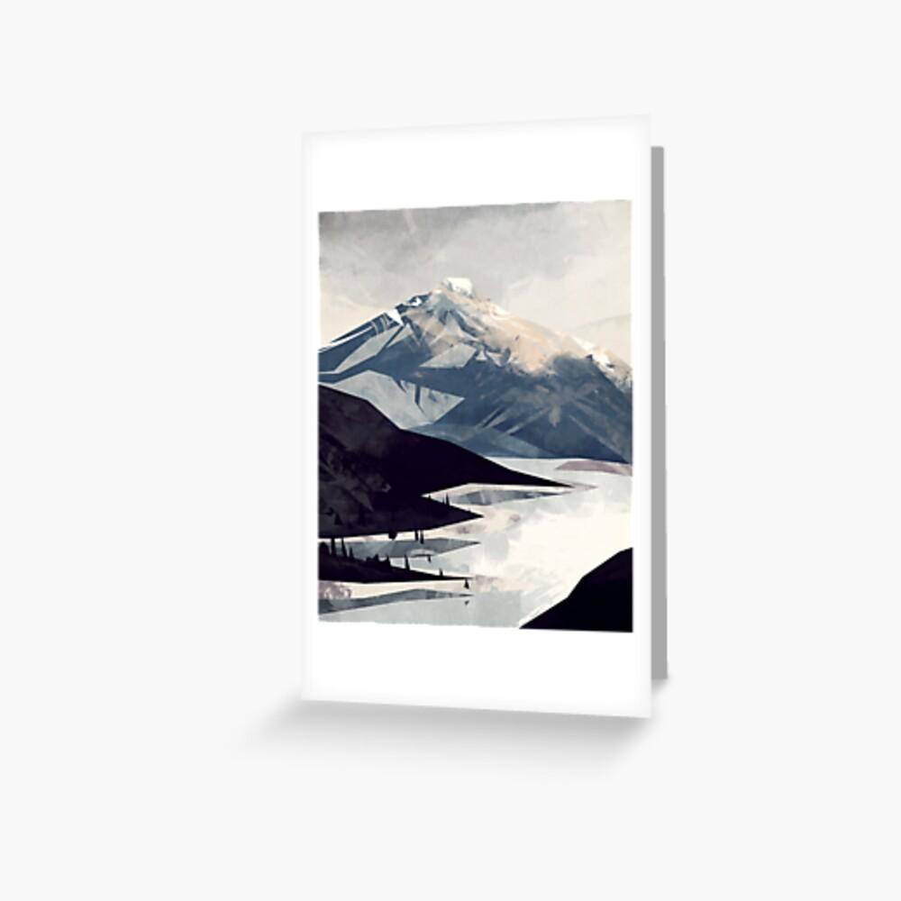 Calming Mountain Greeting Card