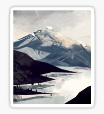Calming Mountain Sticker