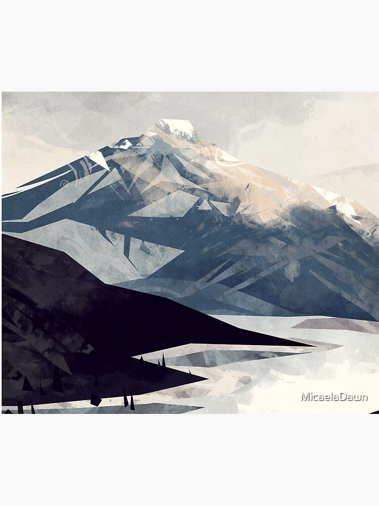 Calming Mountain by MicaelaDawn
