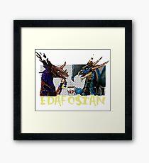 DEADLIEST EDAFOSIAN Framed Print