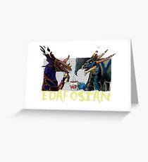 DEADLIEST EDAFOSIAN Greeting Card