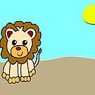 lion by Teresa Hulbert