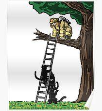 Fireman Rescue Poster