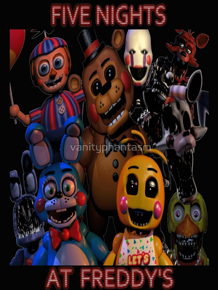 Quot Fnaf 2 Animatronics Quot By Vanityphantasm Redbubble