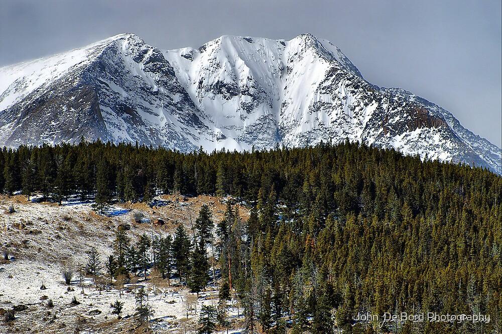 Winter In the Colorado Rockies by John  De Bord Photography