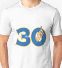 Stephen Curry 30 and sign Unisex T-Shirt
