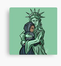 Muslims Welcome Canvas Print