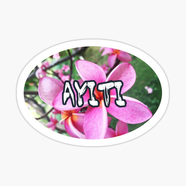 Haiti Sticker Traditional Sticker