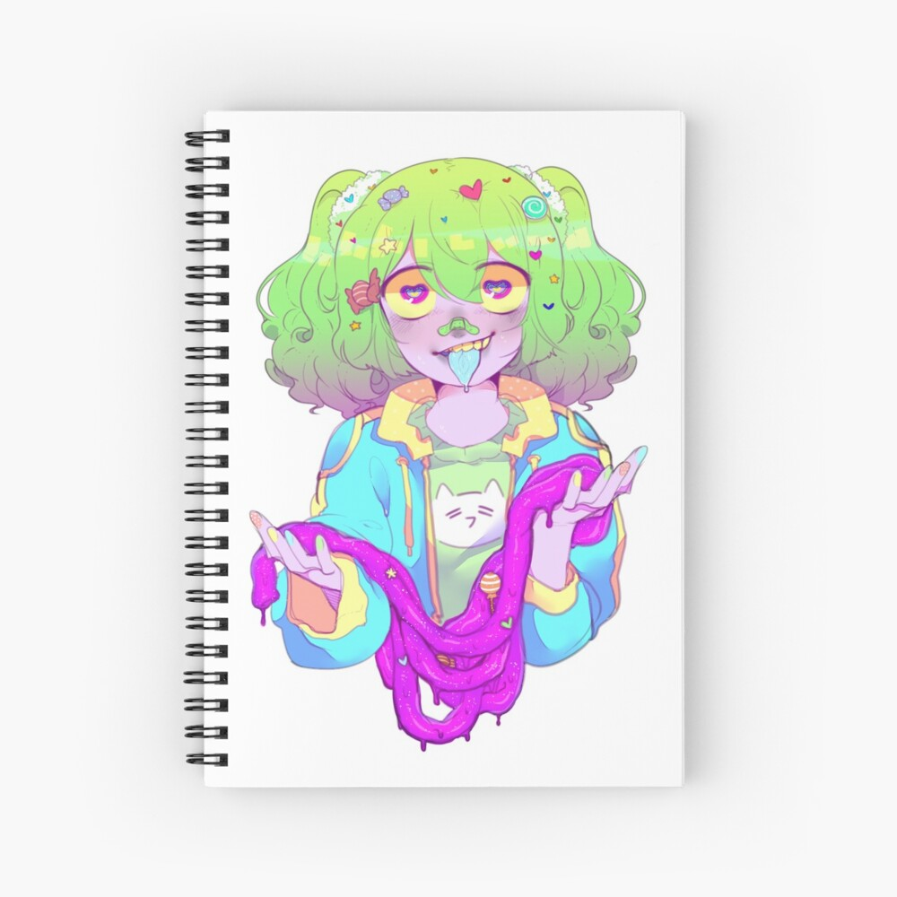 Candy Gore Spiral Notebook By Sluggishsnail Redbubble Giphy is how you search, share. redbubble