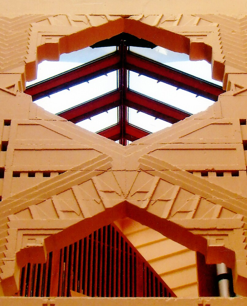Florida Southern College Church by Walter Strength