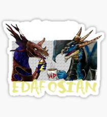 CASPER EDAFOSIAN Sticker