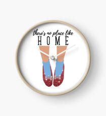 There's No Place Like Home Clock