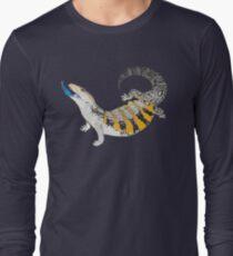 Blue Tongue Skink Long Sleeve T-Shirt