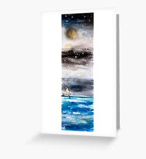 The Little Boat That Could.  Greeting Card
