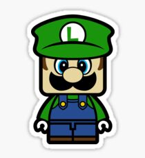 Super Chibi Luigi Sticker