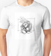 THROW 4_WHITE Unisex T-Shirt