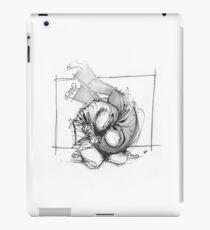 THROW 4_WHITE iPad Case/Skin