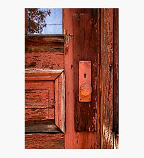 Knock Knock Photographic Print