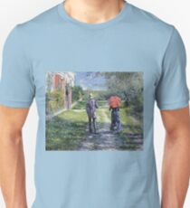 Gustave Caillebotte - The Path Uphill Unisex T-Shirt