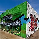 Graffiti-Ecke von Celeste Mookherjee