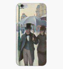 Gustave Caillebotte - Paris Street Rainy Day (1877) iPhone Case
