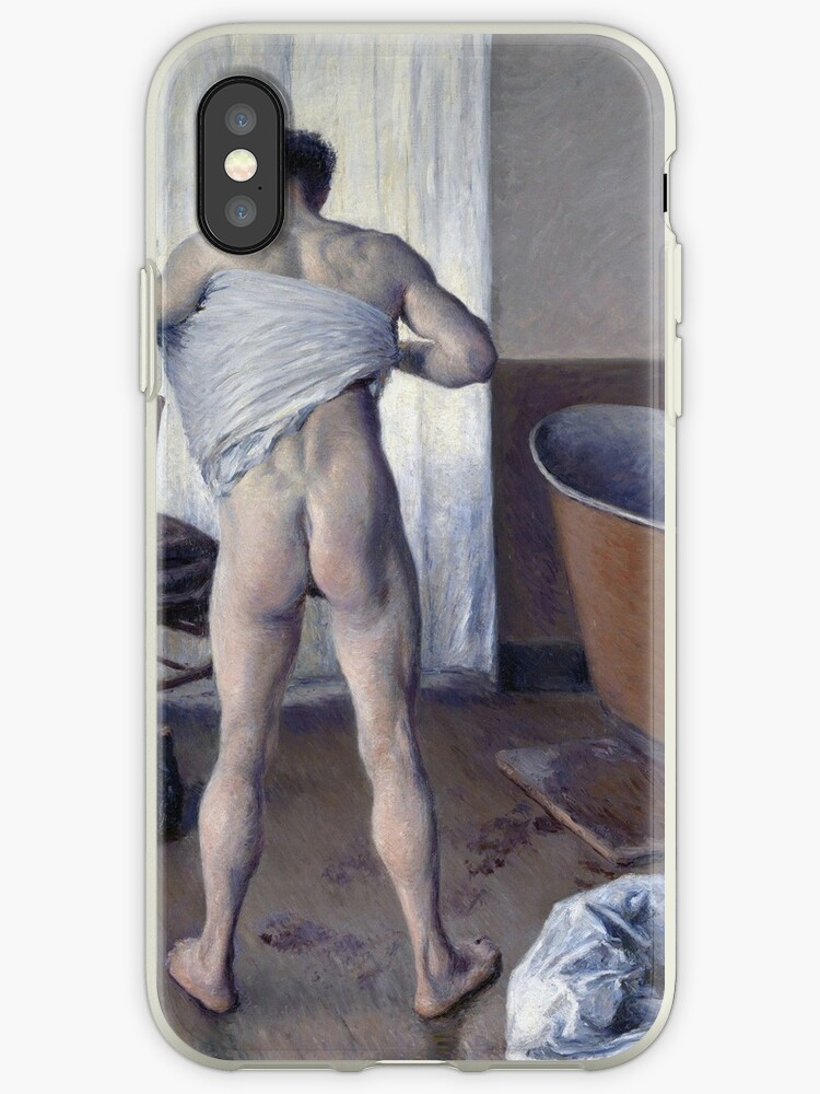 Gustave Caillebotte - Man At His Bath by artcenter