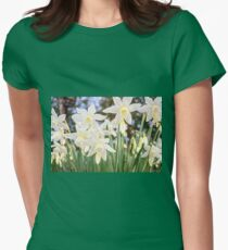 Kiss of Spring Womens Fitted T-Shirt