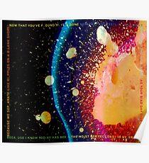 Radiohead - In Rainbows Lyrics Poster