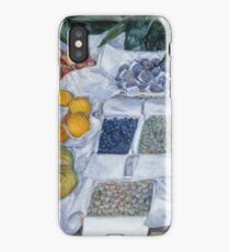 Gustave Caillebotte - Fruit Displayed On A Stand  1881  iPhone Case/Skin