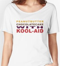Peanut Butter Chocolate Cake With Kool-Aid Women's Relaxed Fit T-Shirt