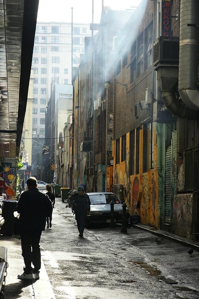 Alleyway by Harry Oldmeadow