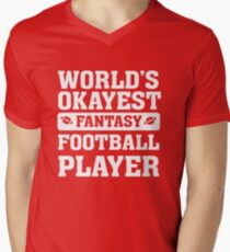 World's Okayest Fantasy Football Player Funny T-Shirt