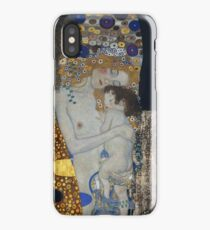 Gustav Klimt - The Three Ages Of Woman Gustav Klimt iPhone Case/Skin