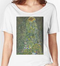 Gustav Klimt - The Sunflower 1907 Women's Relaxed Fit T-Shirt