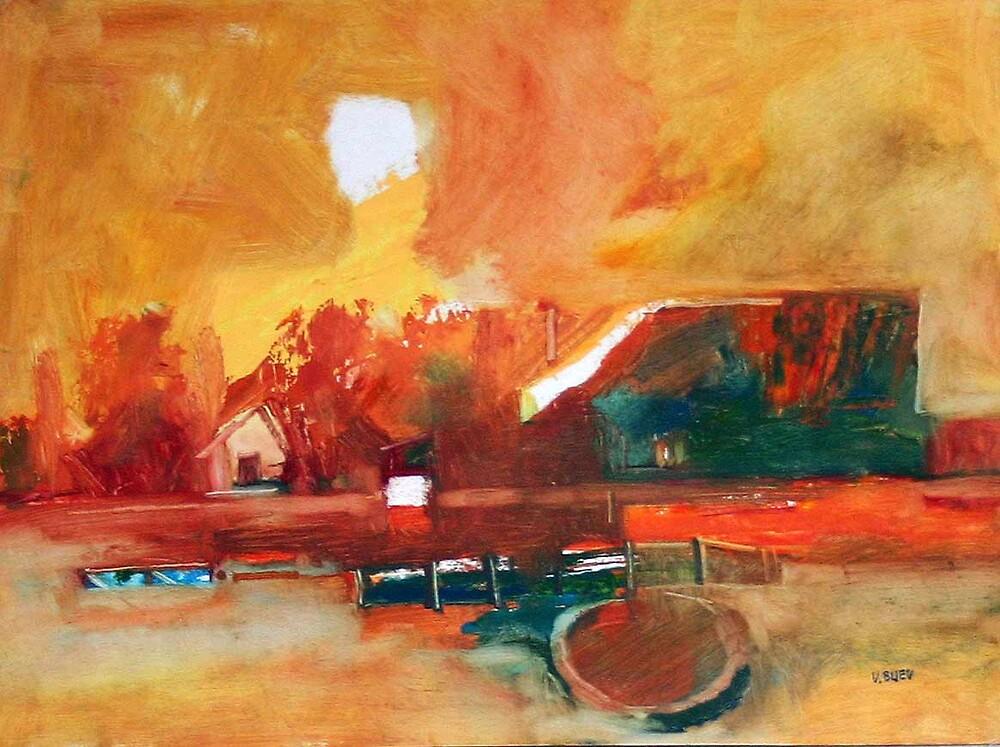 landscape 1 by Valeriu Buev