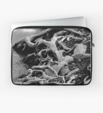 Tree Roots by the River Edge Laptop Sleeve