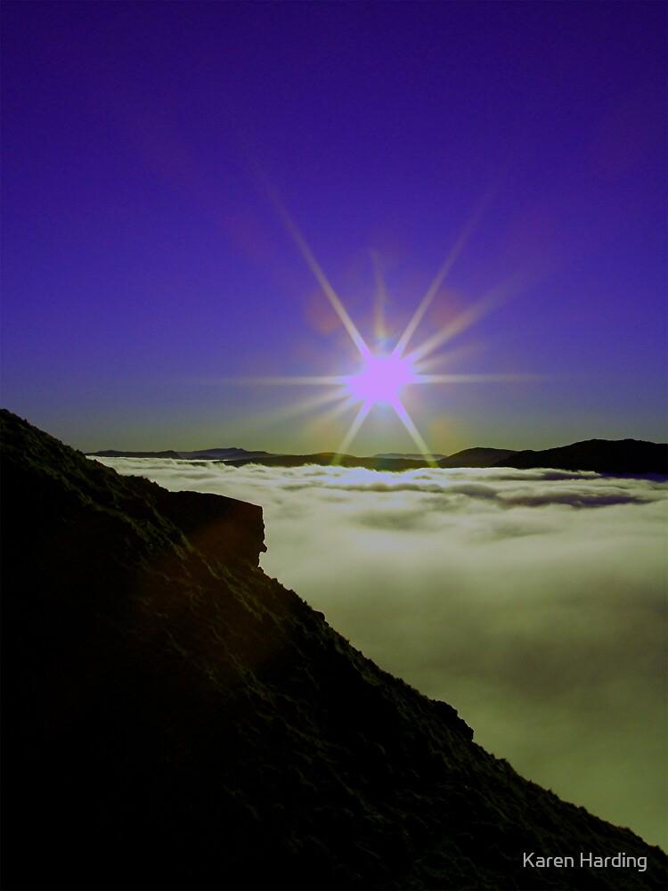Sun & Cloud by Karen Harding
