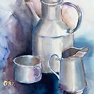Still life with Tea Cup by Giselle Luske