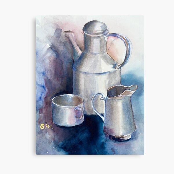 Still life with Tea Cup Canvas Print