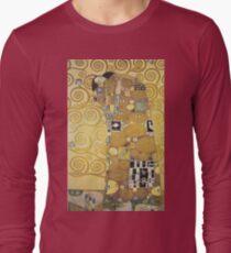 Gustav Klimt - Stoclet Frieze - The Embrace, 1909 T-Shirt