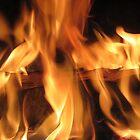 fireplace by AHELENE